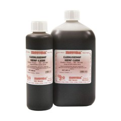 Kandijstroop vloeibaar donker 250 ml (=325 g)