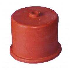 Gistkap rubber nr. 3, 35 mm, met 9 mm gat