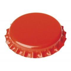 Kroonkurken 26 mm oranje 100 st.