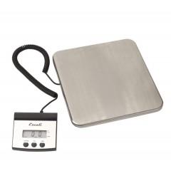 Weegschaal digitaal 100 kg/50 gram RVS platform 30 x 30 cm