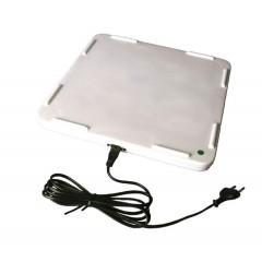 Verwarmingsplaatje 15x15 cm 10w, 230v