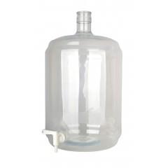 Gistingsfles pet 23 liter met kraan 5/16 inch-7/16 inch