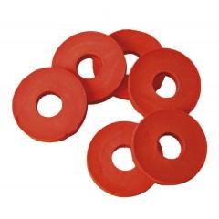 Rubberen ringen voor beugels, 100 stuks