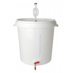 Brouw- en gistingsemmer BREWFERM 30 liter, gegradueerd