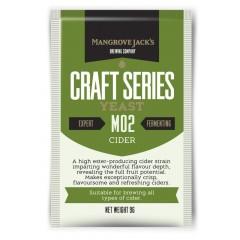 Gedroogde gist Cider M02 - 9g