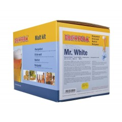 Moutpakket BREWFERM Mr. WHITE voor 20 liter