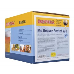 Moutpakket BREWFERM Mc Beaver Scotch Ale voor 20 liter