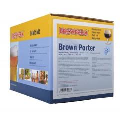 Moutpakket BREWFERM BROWN PORTER voor 20 liter
