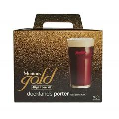 Bierpakket MUNTONS GOLD Docklands porter 3kg
