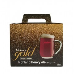 Bierpakket MUNTONS GOLD Highland heavy ale 3kg