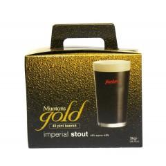 Bierpakket MUNTONS GOLD imperial stout 3kg