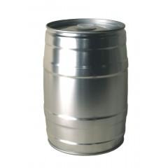 Drukvat mini 5 l grijs + gummidop