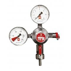 CO2-drukregelaar met 2 manometers