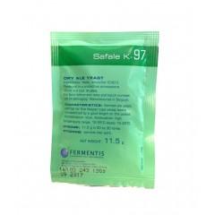 Fermentis biergist gedroogd SafAle K-97 11,5 g