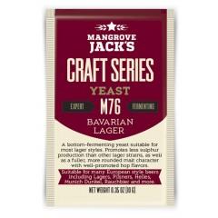 Gedroogde biergist Bavarian Lager M76 - Mangrove Jack's Craft Series - 10 g