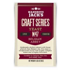 Gedroogde biergist Belgian Abbey M47 - Mangrove Jack's Craft Series - 10 g