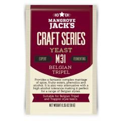 Gedroogde biergist Belgian Tripel M31 - Mangrove Jack's Craft Series - 10 g