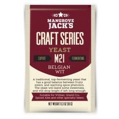 Gedroogde biergist Belgian Wit M21 - Mangrove Jack's Craft Series - 10 g