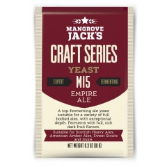 Gedroogde biergist Empire Ale M15 - Mangrove Jack's Craft Series - 10 g