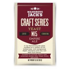 Gedroogde biergist Empire Ale M15 - Mangrove Jack's Craft Series - 10 g