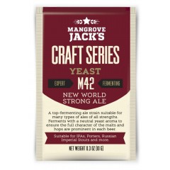 Gedroogde biergist New World Strong Ale M42 - Mangrove Jack's Craft Series - 10 g