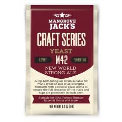 Gedroogde biergist New World Strong Ale M42 - Mangrove Jack's Craft Series - 10 g