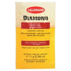 LALLEMAND biergist gedroogd Diamond Lager, 11 g