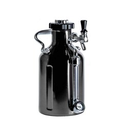 GrowlerWerks uKeg 64 zwart chroom - 1,9 l
