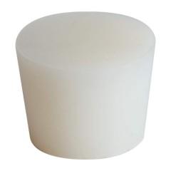 Siliconen stop 8/12 mm - zonder gat